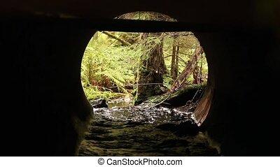 Stream in the pipe
