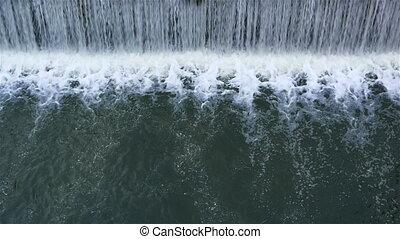 stream of water