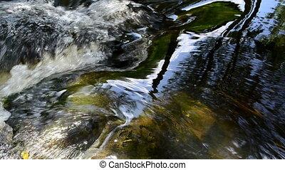 stream stone underwater