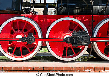 stream train wheels