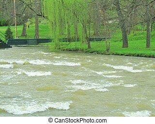 Stream White Water