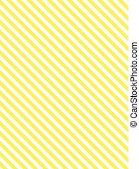 streep, gele, diagonaal