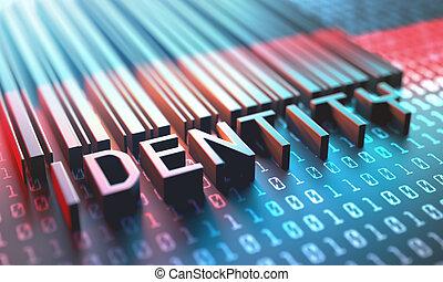 streepjescode, digitale , identiteit