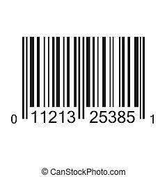 streepjescode, illustratie