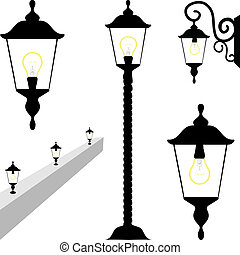 Street And Wall Lamps