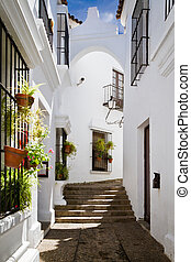 Andalusia - Street Andalusia in Poble Espanyol, Barcelona