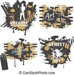 Street Art Compositions