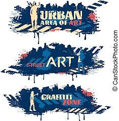 Street Art Horizontal Banners
