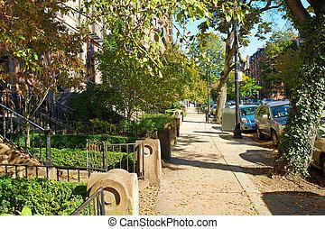 Street at Boston