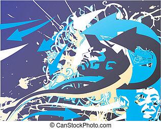 Street Background Illustration