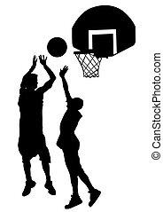 Street basketball one