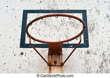 street basketball - vintage street basketball