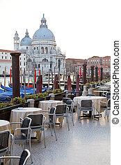 Street cafe in Venice
