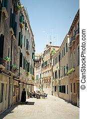 Street Cafe. Venice
