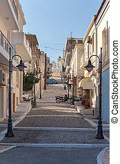 Street city of Sitia