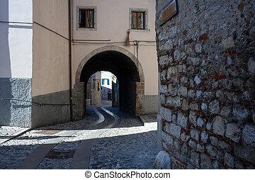 Street, Cividale del Friuli - Street of Cividale del Friuli...