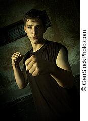 street combat - bad boy(focus on the face)
