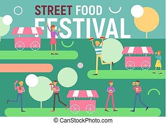 Street Food Festival Poster