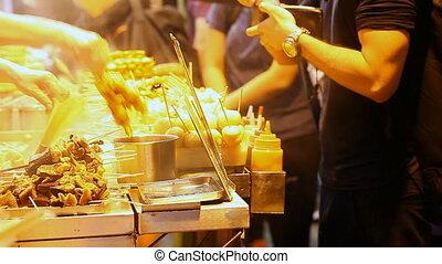 STREET FOOD IN HONG KONG - STREET FOOD IN ASIA Full HD