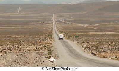 Street In Andes, Peru