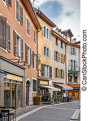 Street in Annecy, France