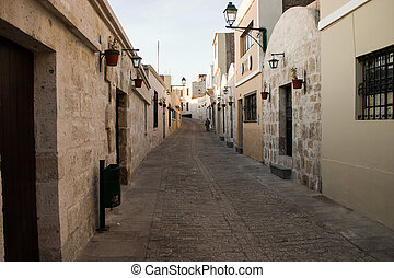 Street in Arequipa