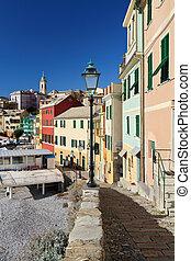 street in Bogliasco, Italy