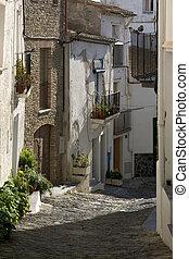 Street in Cadaques, Catalonia