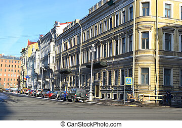 Street in center of St.Petersburg