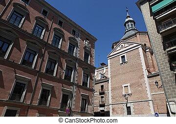 street in Madrid, Spain