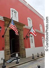 Street in old San Juan, Puerto Rico