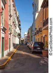 Street in San Juan