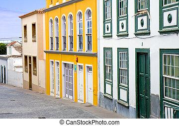 Street in Santa Cruz, La Palma
