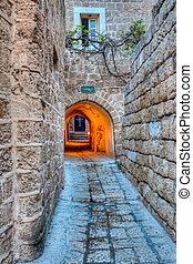 Street in stone