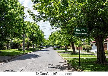 Street in Talca