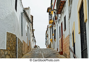 Street in the ancient Ronda