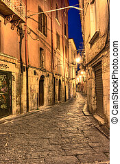 street in the historic center of Campobasso