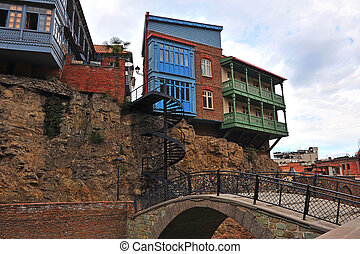Street in the old town of Tbilisi