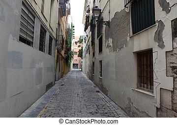 street in Valencia,  Spain