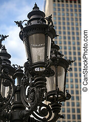 Street Lamp and the City