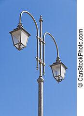 Street-lamp in Giovinazzo. Apulia.