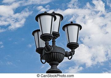 Street lamp.