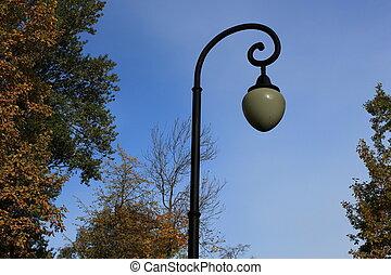 Street lantern in park 3
