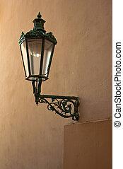 Street lantern in Prague