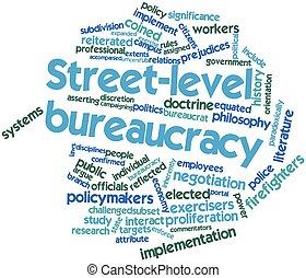 street-level, bureaucratie