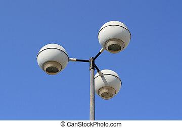 Street light close up