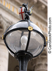 Street Light in City