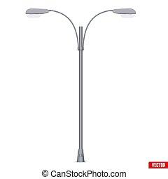 Street Light Lamp post isolated