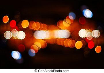 street light spots