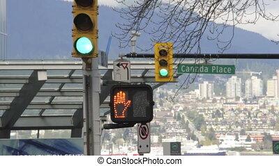 Street Light - Street lights changing